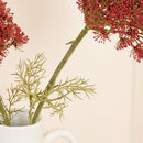 Set Of Two Artificial Red Queen Anne's Lace Sprays