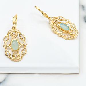 Gold Earrings Norresa - earrings