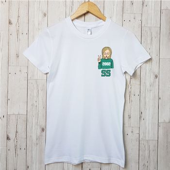 Personalised 'Year You Were Born' T Shirt