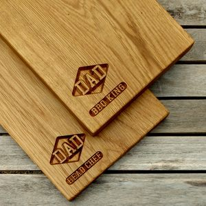 Engraved Oak Chop And Serve Board - what's new