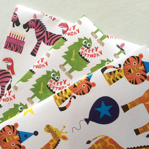 Wrapping Paper Selection