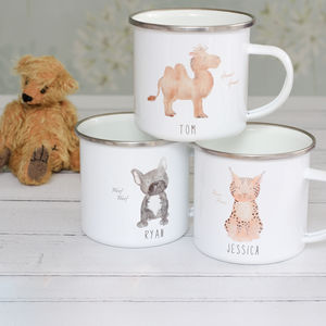Children's Wild At Heart Personalised Mugs
