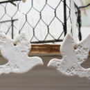 A Pair Of Kissing Dove Decorations