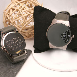 Personalised Wrist Watch Quadrant Design
