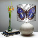 Purple Emperor Butterfly Lampshade