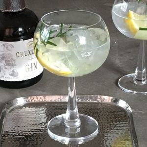 Personalised Gin Balloon Glasses - tableware