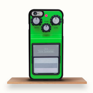 Green Guitar Pedal iPhone Case For All Models