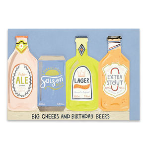 'Big Cheers And Birthday Beers'