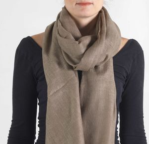 Oversized Cashmere Scarf For Men