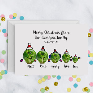 Sprout Family Christmas Card