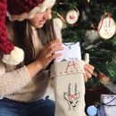 Personalised Hand Embroidered Christmas Stockings