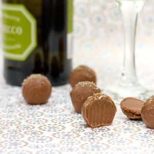 Prosecco Truffles Chocolate Gift Box - food & drink