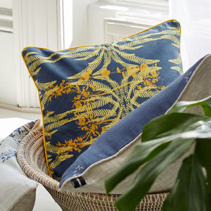 Cuban Countryside Inspired Cushion - living room