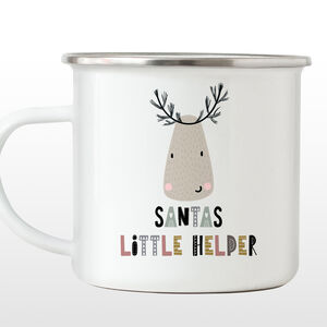 Santa's Little Helper Xmas Mug