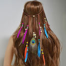 Bohemian Feather Headdress