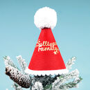 Personalised Felt Party Hat Christmas Tree Topper