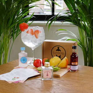 Three Shades Of Pink Gins Tasting Gift Set