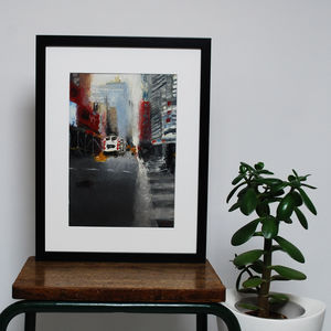 New York, New York Original Oil Painting - paintings