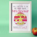 Personalised Super Teacher Certificate