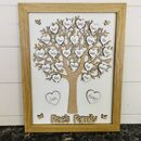 Personalised Mother's Day Framed Wooden Family Tree