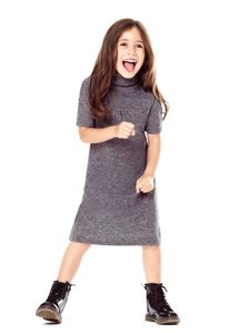 Girls' Special Day Cashmere Dress