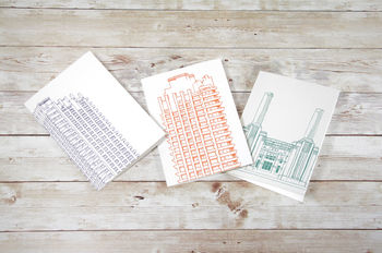 Iconic Architecture Cards Set Of Four