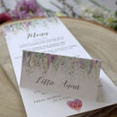 'Whimsical' Wedding Place Cards