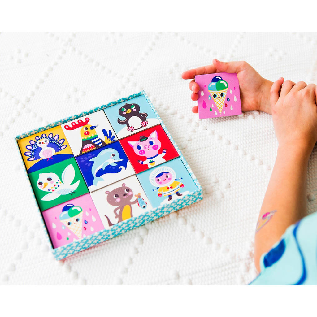 Children's Animal Themed Memory Game