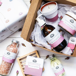 Wrapped Ultimate Eco Luxury Pamper Gift Set - bath & body
