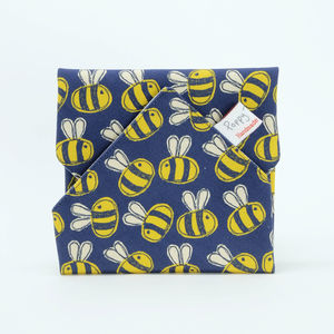 Bee Insulated Re Usable Sandwich Wrap