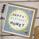 Happy Birthday Honey Bee