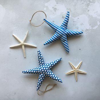 Fabric Nautical Starfish