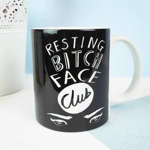 Resting Bitch Face Club Mug - what's new
