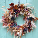 Changing Seasons Dried Flower Wreath