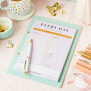 'Working From Home' Daily Planner Desk Pad
