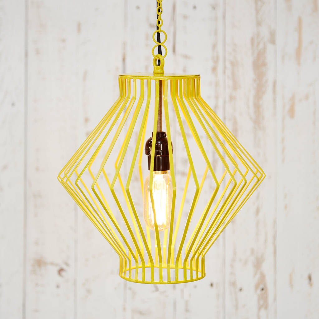 Asha Pendant Wire Ceiling Light By Paper High Wiring A Lamp