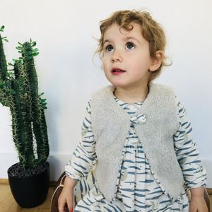 Reversible Fleecy Gilet