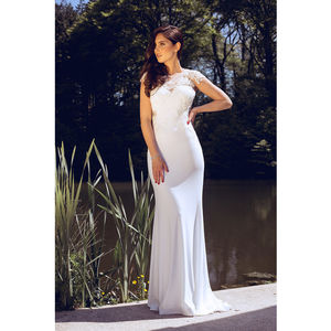 Bridal Dena Long Dress - wedding fashion