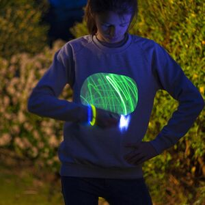 Speech Bubble Glow In The Dark Interactive T Shirt