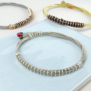 Guitar String Bracelet / Wristband - what's new