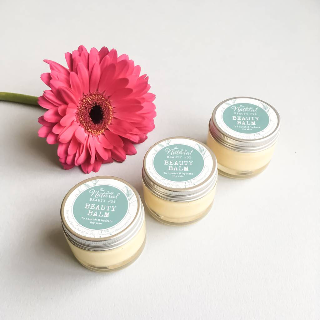 Beauty Hand And Lip Balm