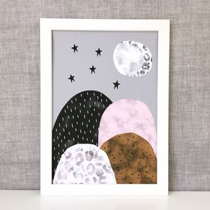 Full Moon Giclee Print - dreamland nursery