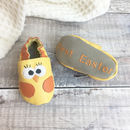 Personalised Chick Baby Shoes