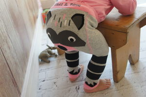 Racoon Leggings - clothing