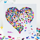 Mam You've Got A Heart Of Gold Card, Mam Butterfly Card