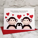 Large A5 sized Valentines Card by Jeny Arnott Cards and Gifts