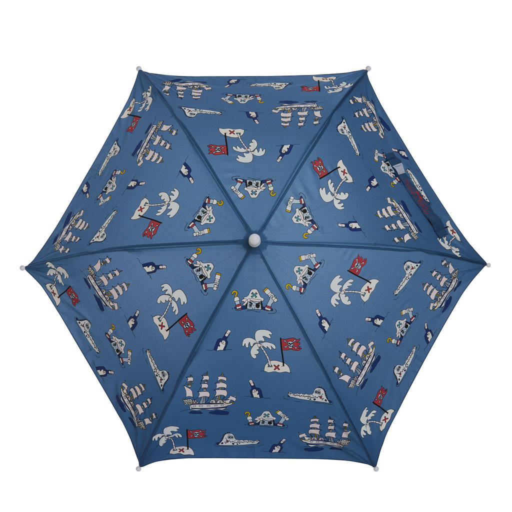 Children S Pirate Colour Changing Umbrella By Holly And Beau