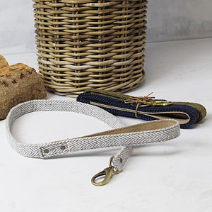 Tweed Dog Lead - dogs