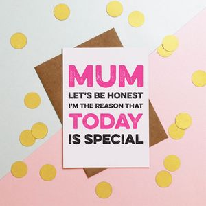 Today Is Special Mothers Day Card - what's new