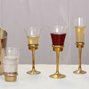 Luxury Gold Banded Glassware